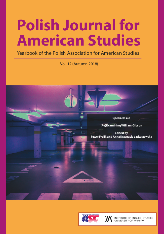 Polish Journal for American Studies vol  12 (Autumn 2018)