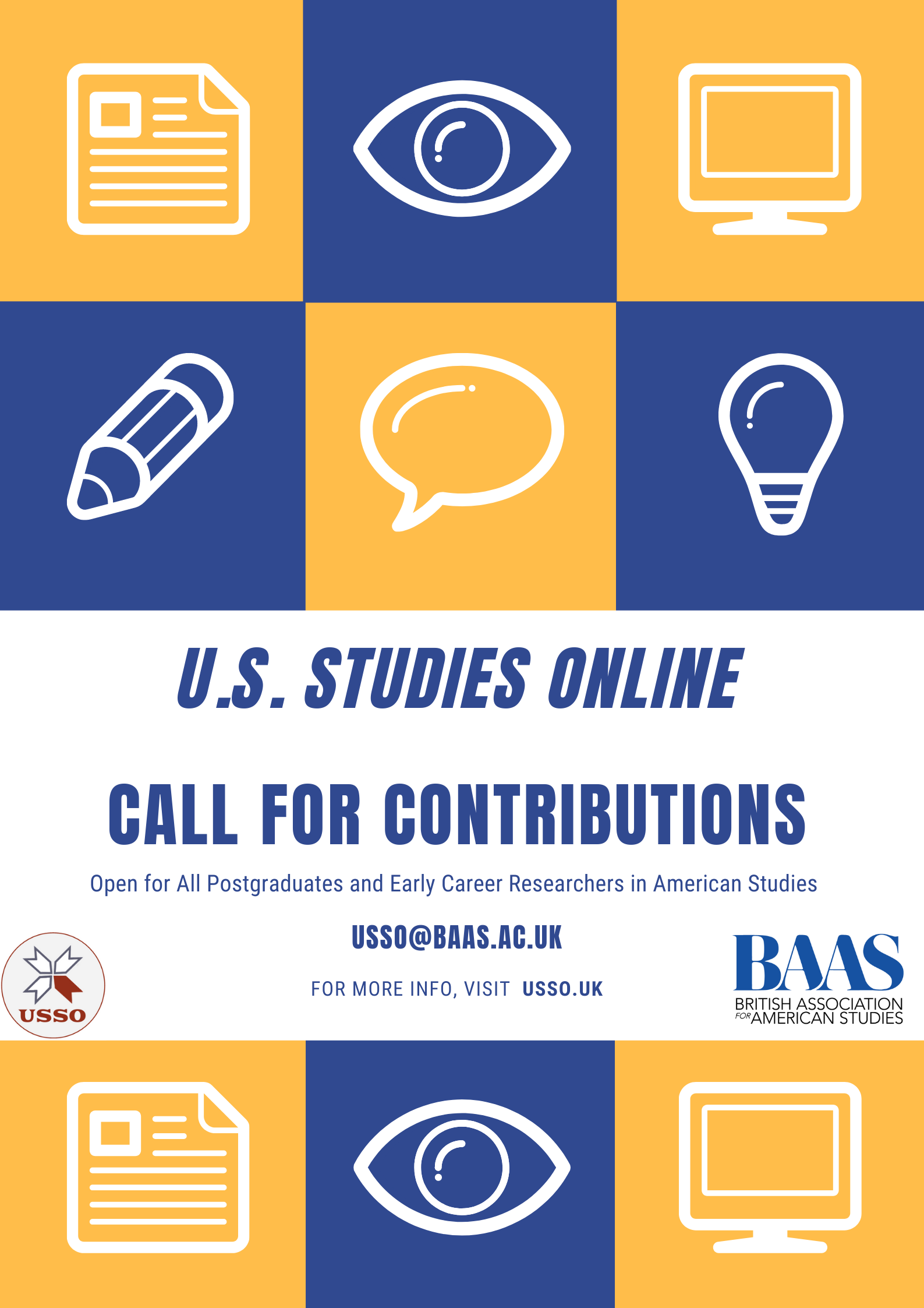 USSO Call For Contributions poster